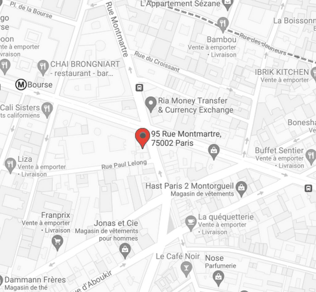 Maps C3 Paris